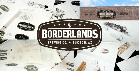 Borderlands Brewing Company logo by The North State