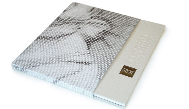 Ewan Gibbs America book design by The North State